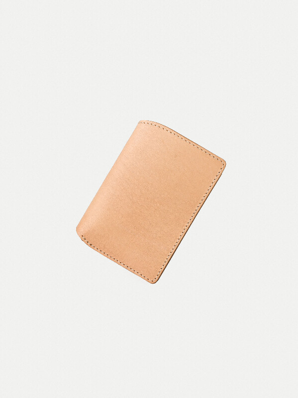 Mark Wallet Saddle Leather Natural