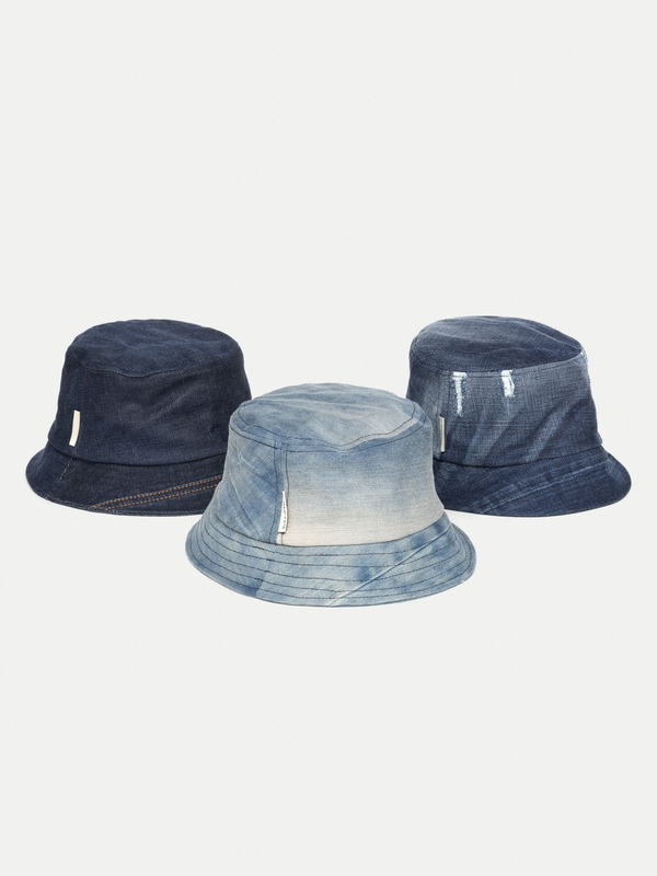 Mathsson Bucket Hat Denim hats accessories