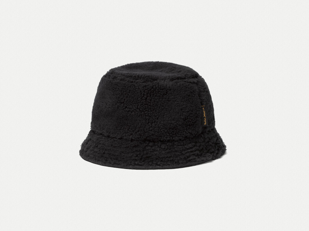 Mathsson Fleece Bucket Hat Black hats accessories