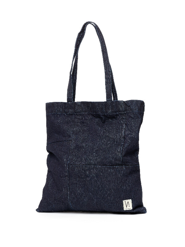 Mattsson Patched Tote Denim bags accessories