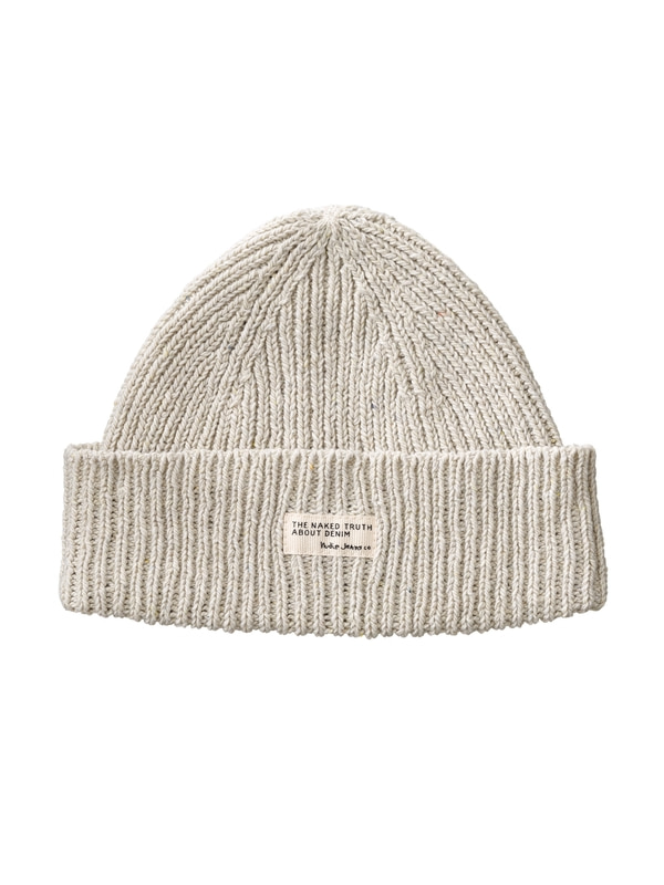 Nicholson Recycled Beanie Offwhite hats accessories