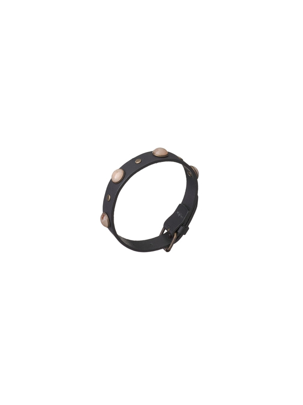 Olausson Pearl Studs Wristband Black misc accessories