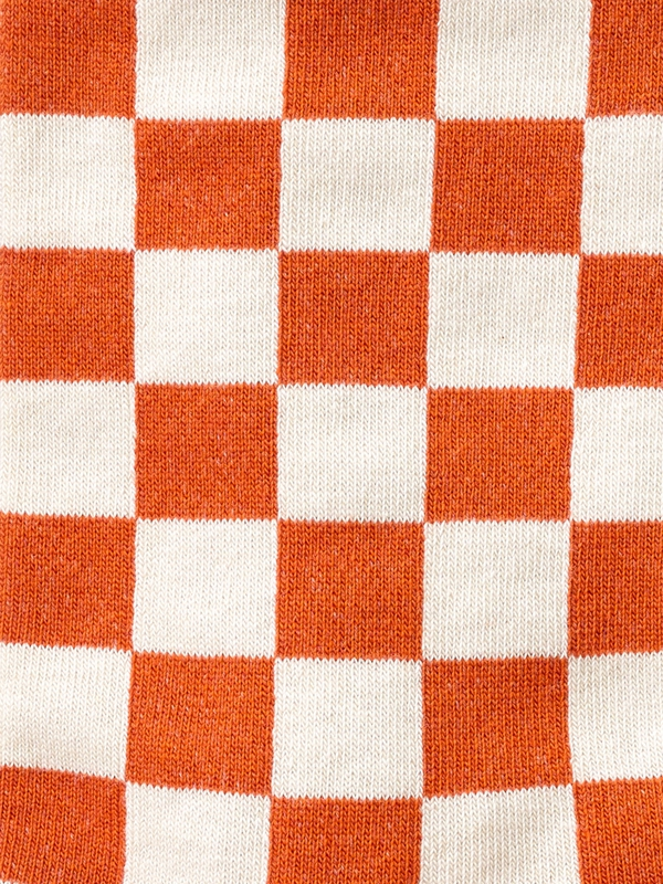 Olsson Checkers Socks Orange
