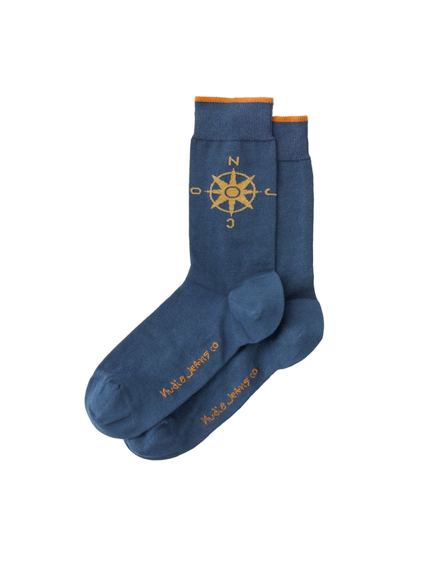 Olsson Compass Socks Prince Blue socks underwear