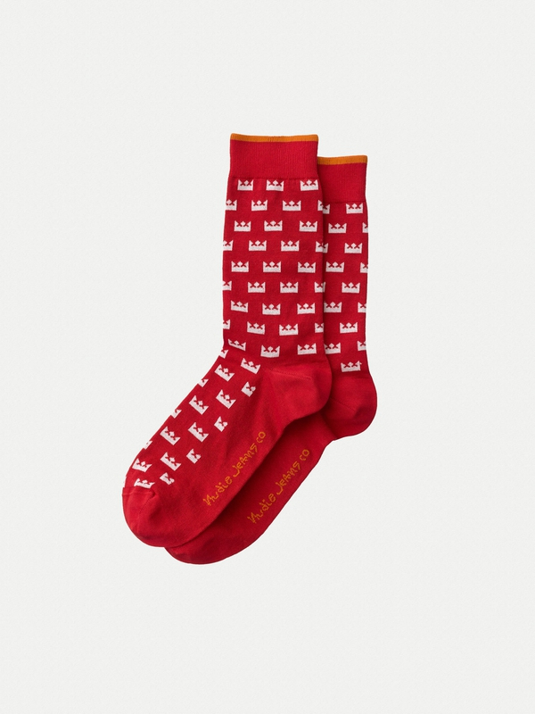 Olsson Crown Ketchup socks underwear