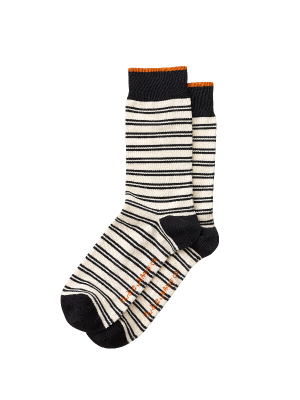 Olsson Double Stripe Socks Offwhite socks underwear