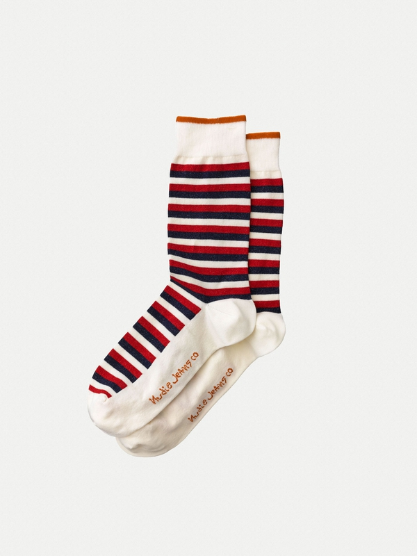Olsson French Stripe Navy/Red/Offwhite
