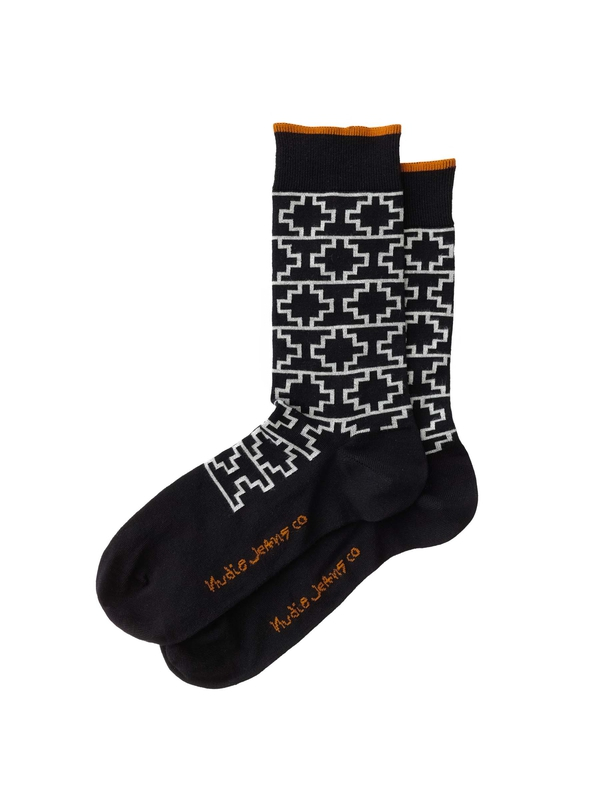 Olsson Graphic Socks Black socks underwear