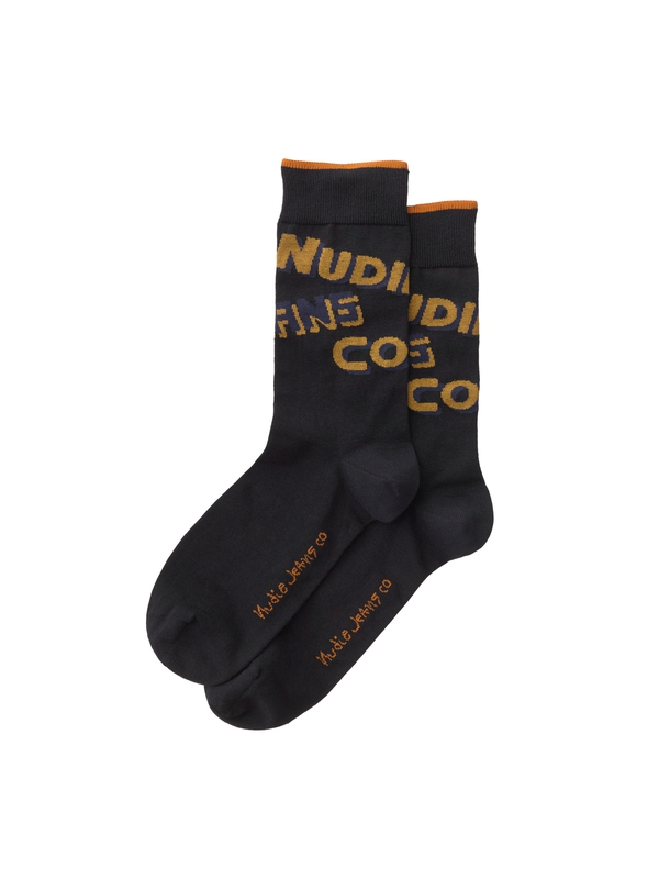 Olsson Nudie Socks Black socks underwear