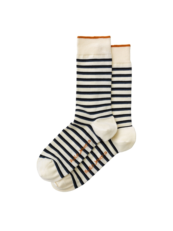 Olsson Striped Socks Offwhite socks underwear