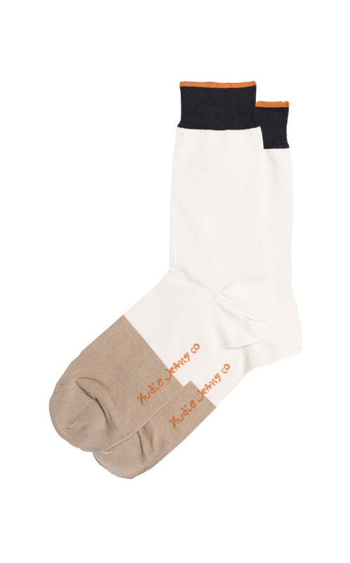 Olsson Toe Panel Socks Offwhite socks underwear