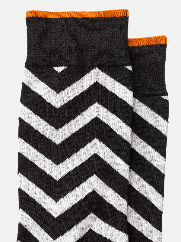 Olsson Zig Zag Black/White