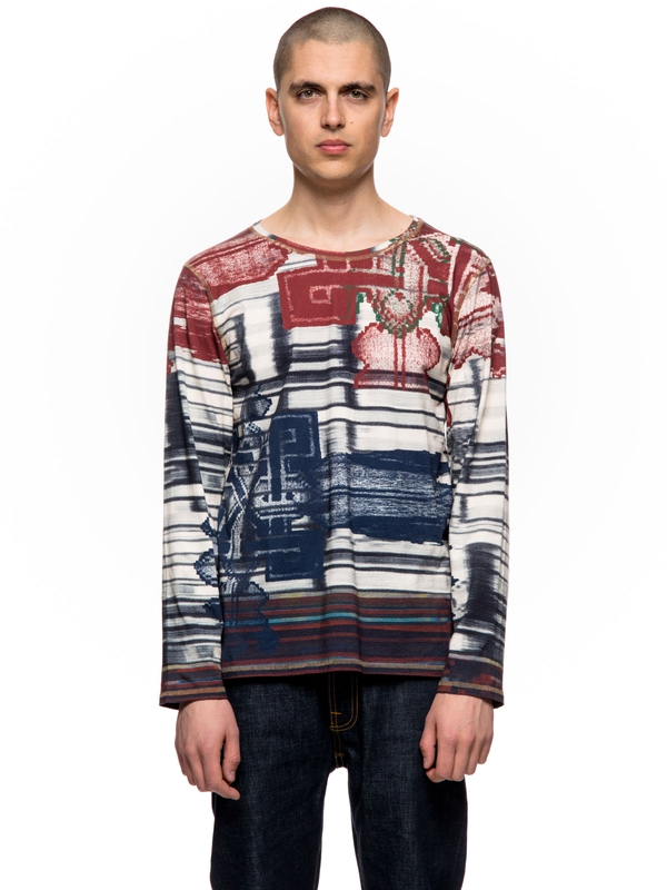 Orvar Kurbits Print Multi long-sleeved tees printed