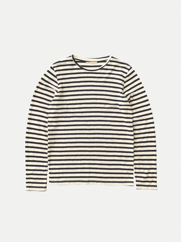 Orvar Long Sleeve Striped Offwhite long-sleeved tees