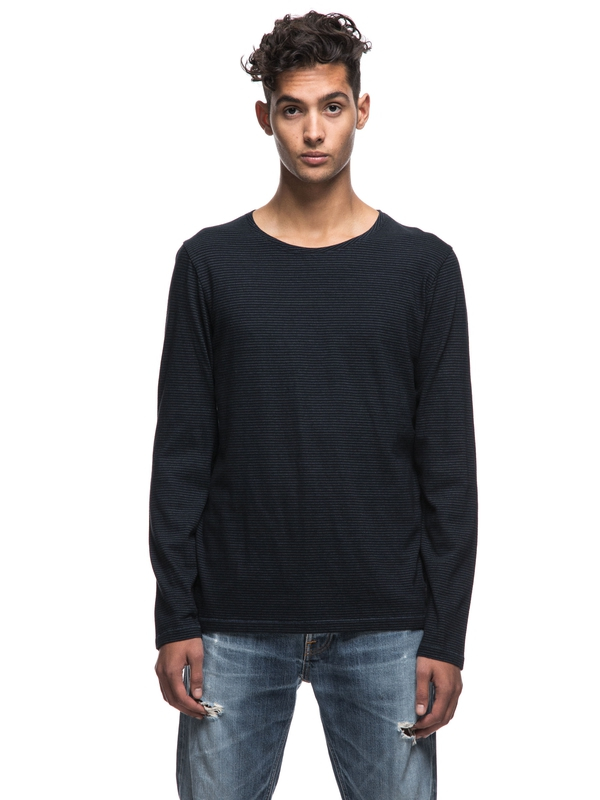 Orvar Micro Stripe long-sleeved tees solid