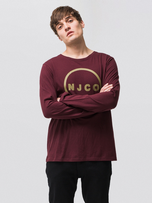 Orvar NJCO Circle Plum long-sleeved tees