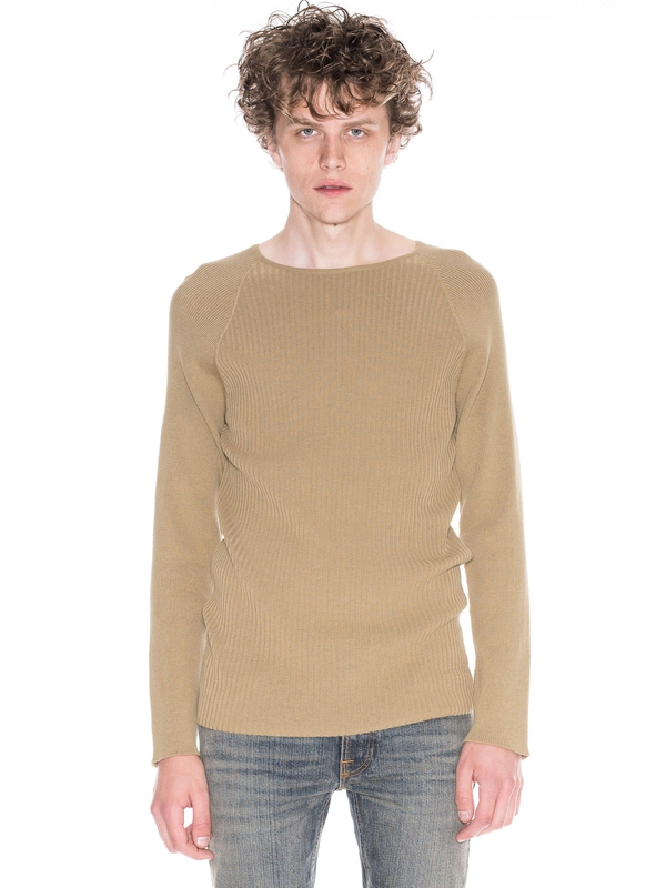 Oskar Mixed Rib Beige knits