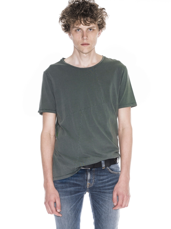 Ove Patched Tee Mirage short-sleeved tees solid