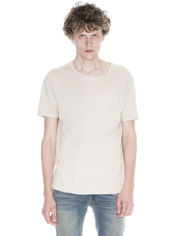 Ove Patched Tee Sand short-sleeved tees solid