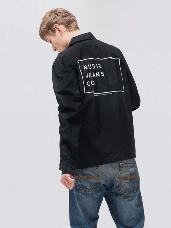 Paul Logo Black Indigo jackets