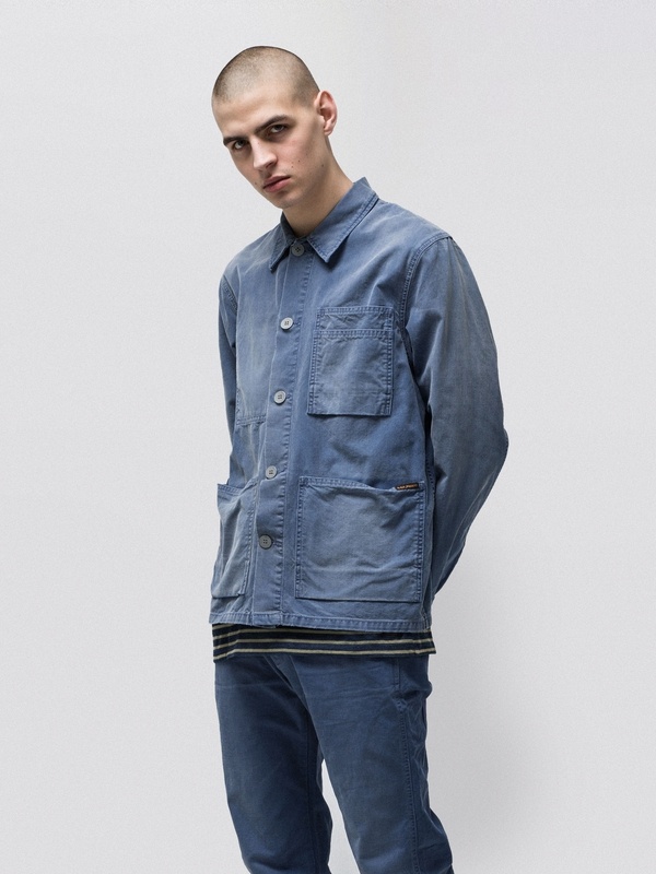 Paul Worker Jacket Oden Blue jackets