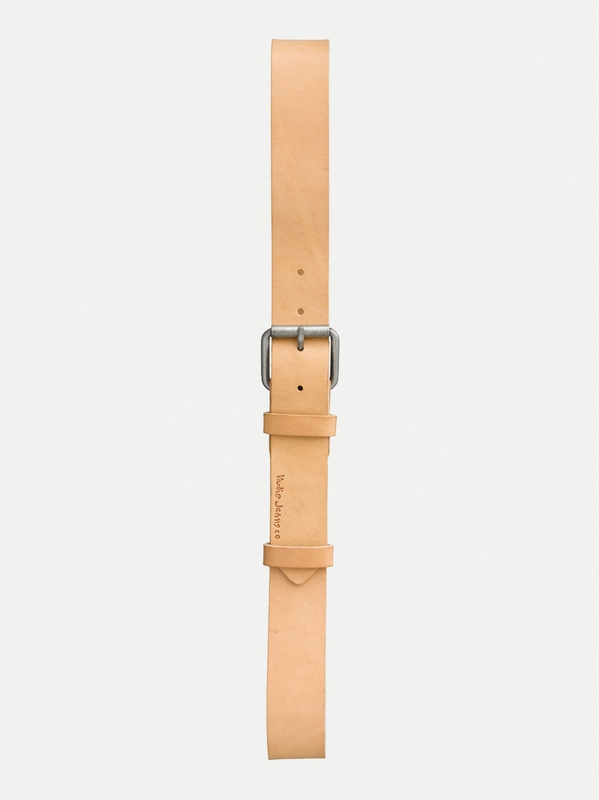 Pedersson Leather Belt Natural