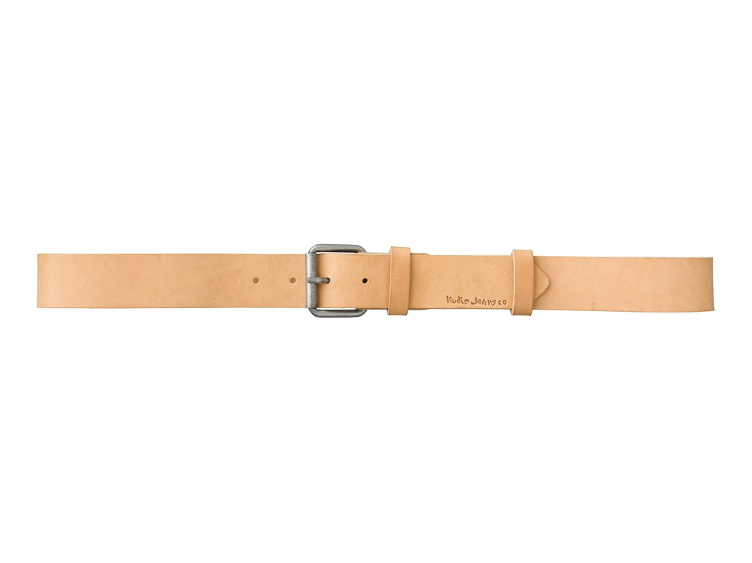 Pedersson Leather Belt Natural belts accessories