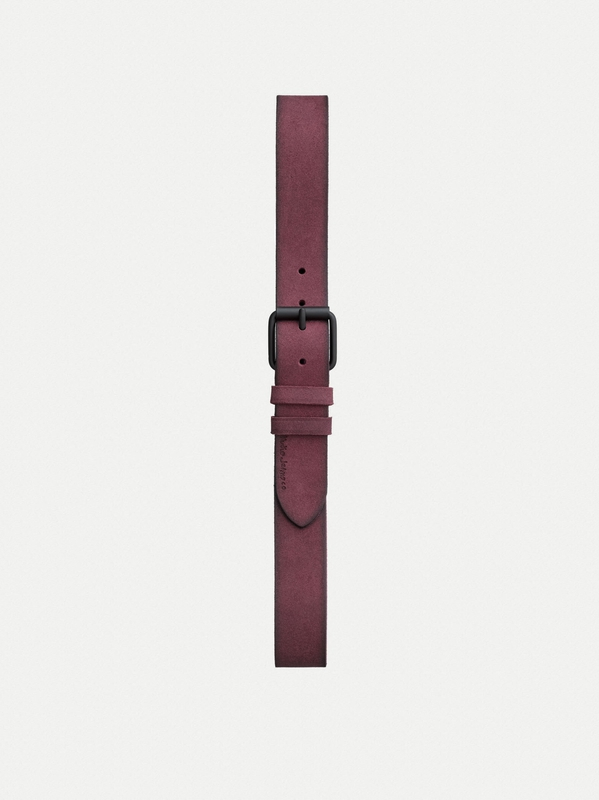 Pedersson Suede Belt Fig