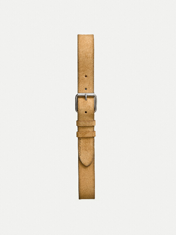 Pedersson Suede Belt Ochre belts accessories