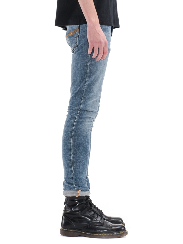 Pipe Led Blue Granum prewashed jeans