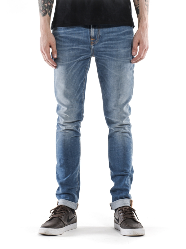 Pipe Led Crispy Pepper prewashed jeans