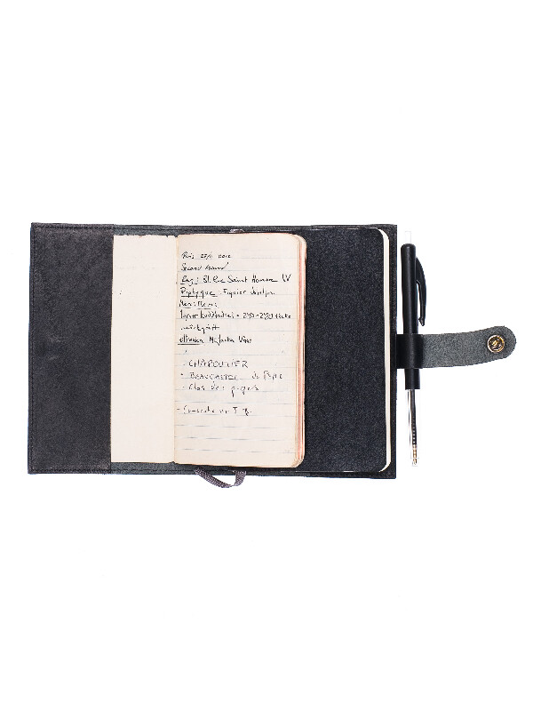 Poesson Notebook Cover Black