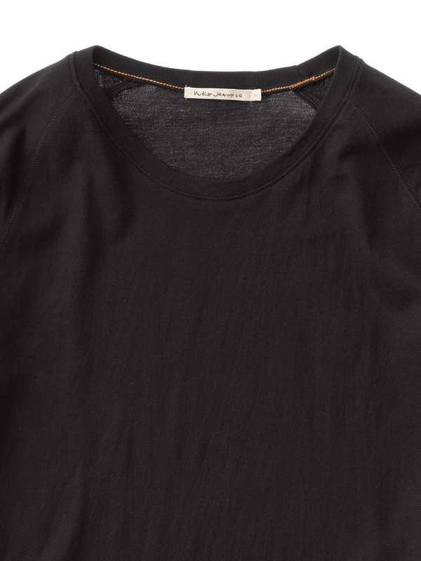 Quarter Sleeve Tee Black