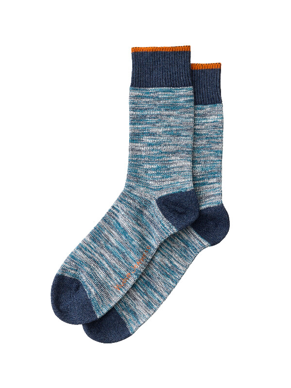 Rasmusson Multi Yarn Socks Blue socks underwear