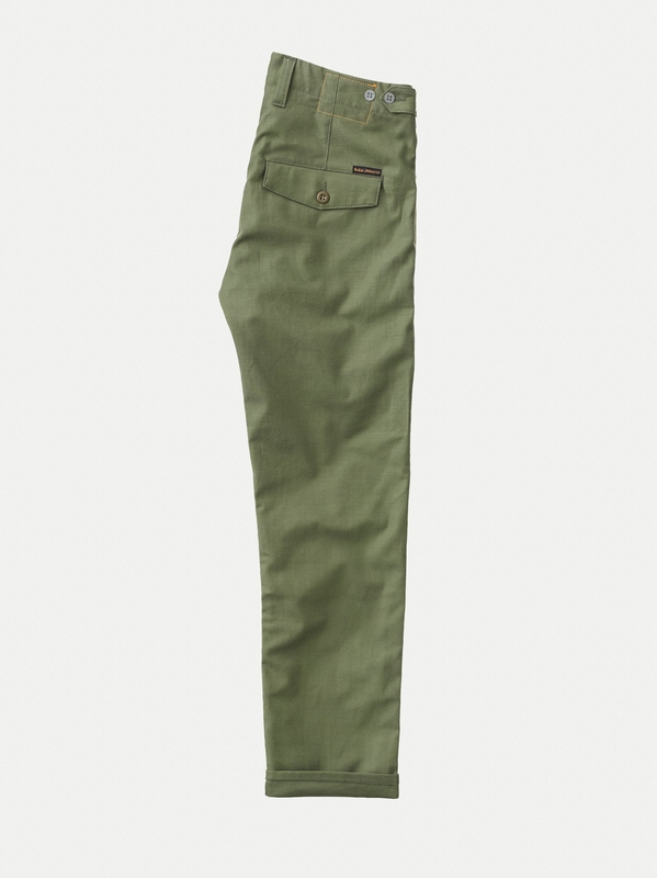 Regular Anton Army Sateen Selvage
