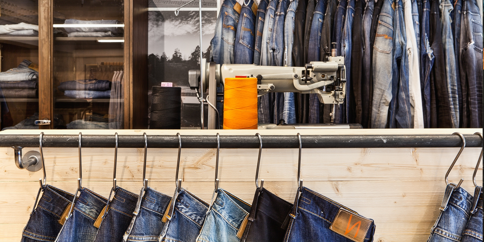 Nudie Jeans Repair Shop Vallgatan - Nudie Jeans
