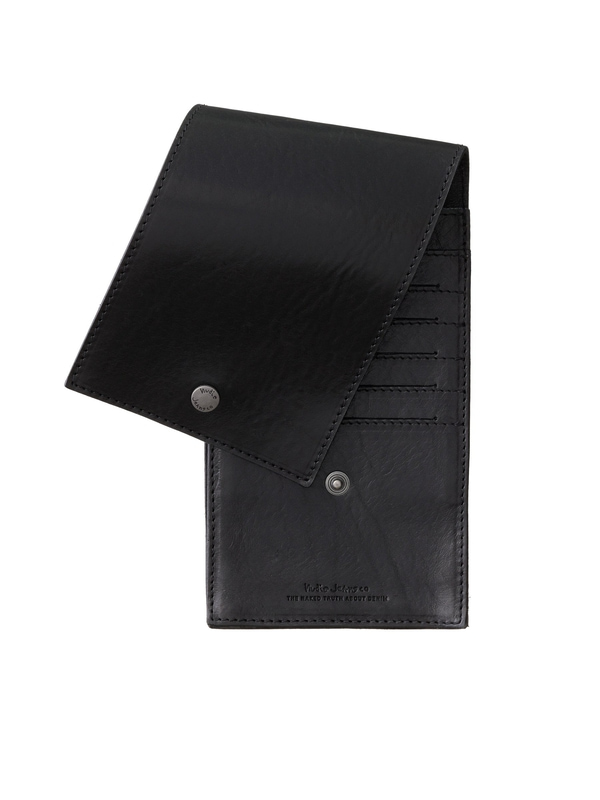 Roaldsson Travel Wallet Black wallets accessories