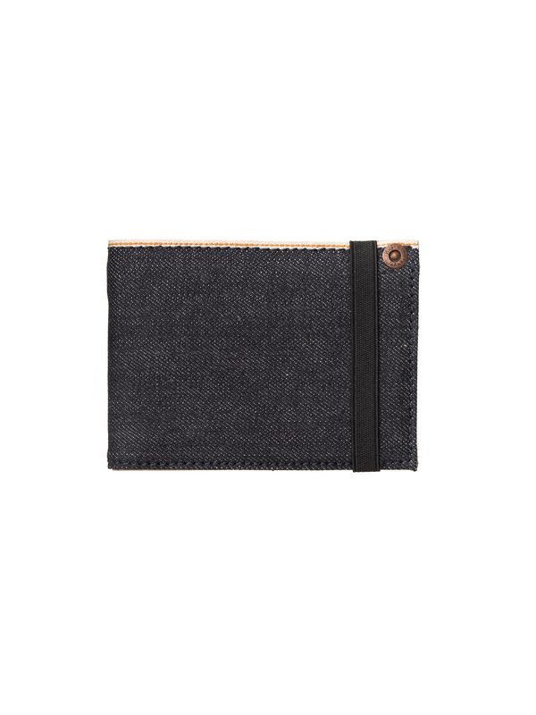 Robsson Wallet Selvage & Leath Denim wallets selvage