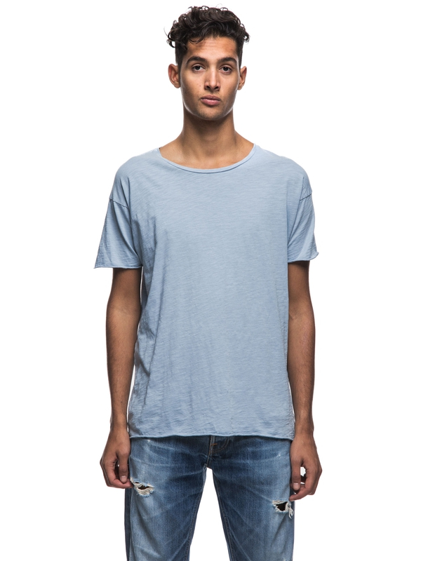 Roger Slub Cloud short-sleeved tees solid