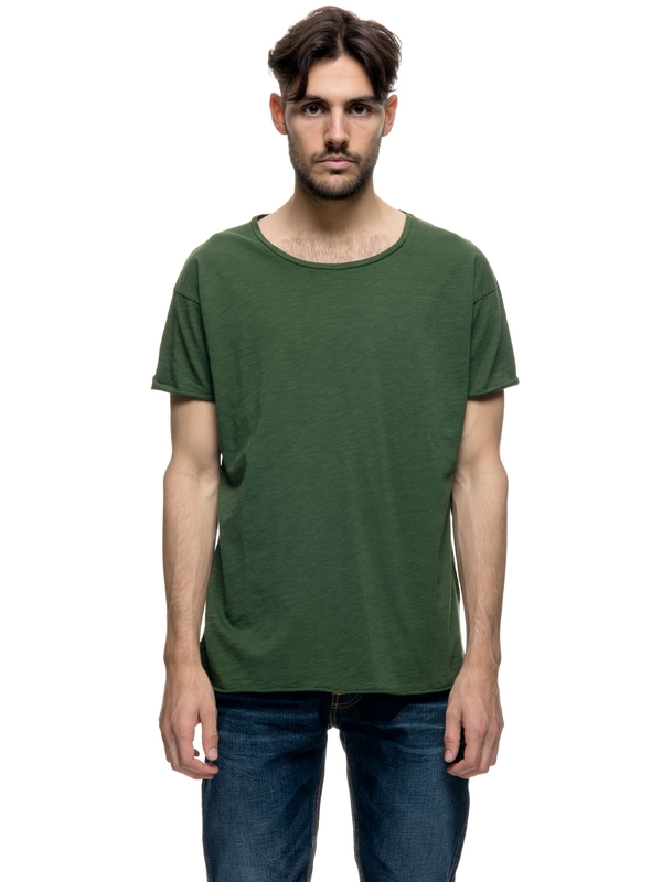 Roger Slub Grass short-sleeved tees solid