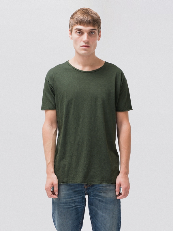 Roger Slub Ivy short-sleeved tees solid