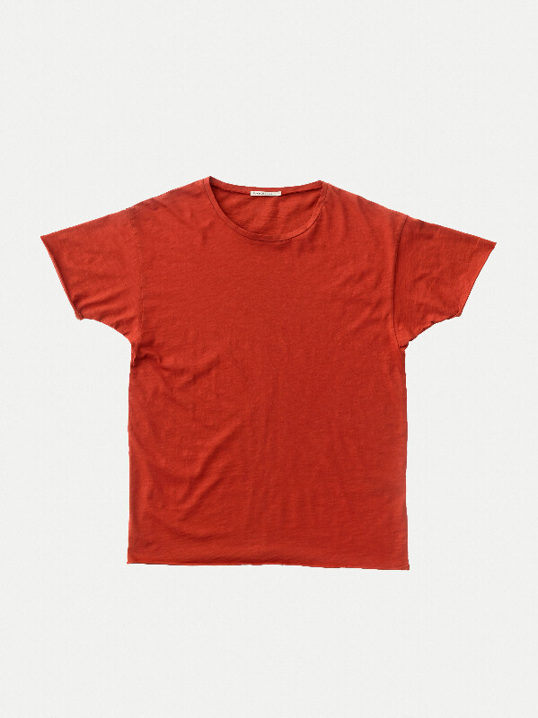Roger Slub Ketchup short-sleeved tees solid