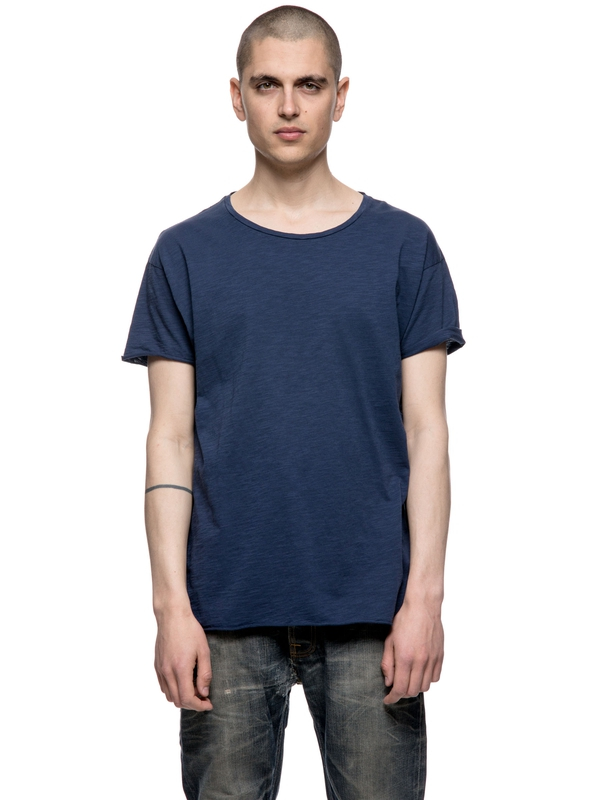 Roger Slub Midnight short-sleeved tees solid