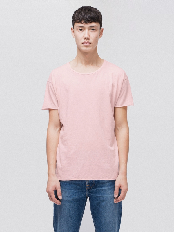 Roger Slub Sakura short-sleeved tees solid