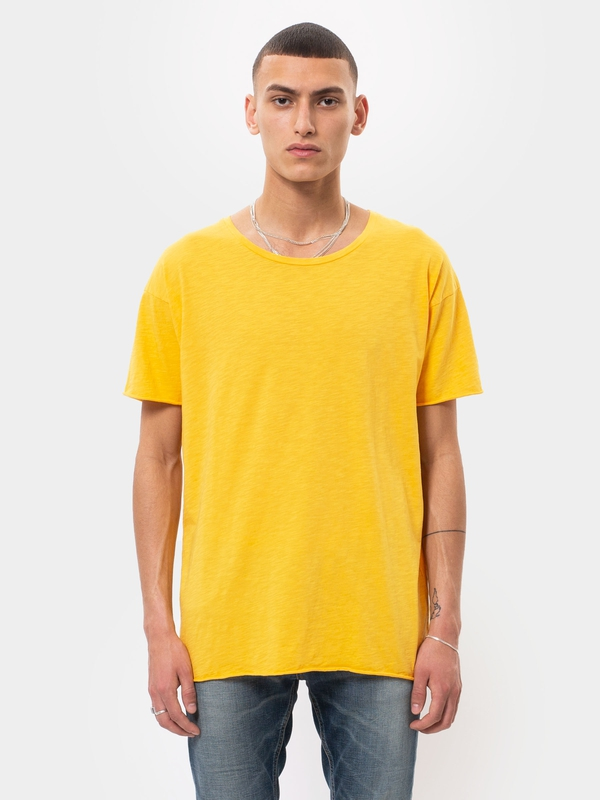 Roger Slub Dandelion short-sleeved tees