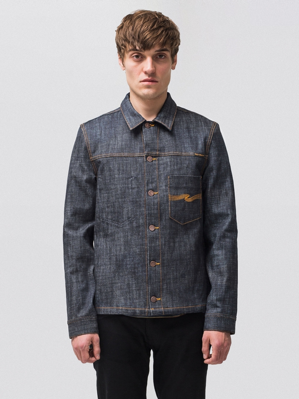 Ronny Dry Cross dry denim-jackets