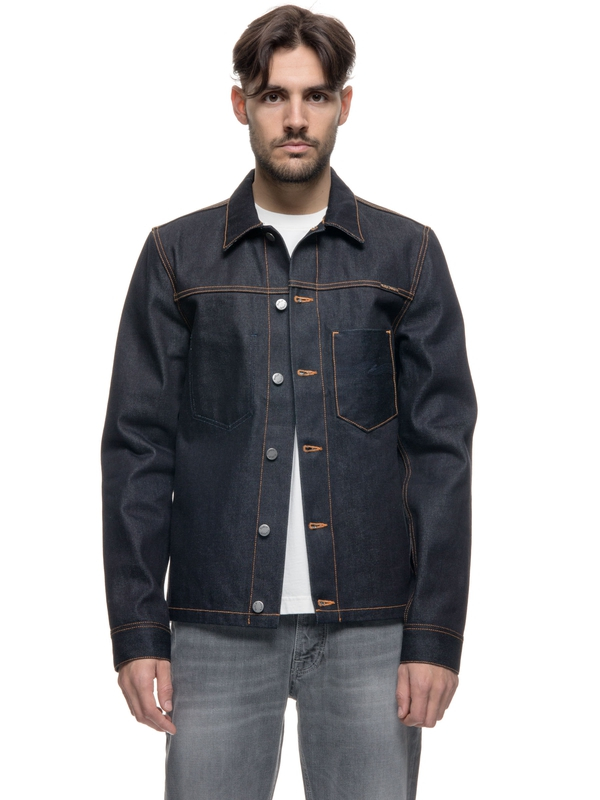 Ronny Dry Dark Selvage Denim denim-jackets