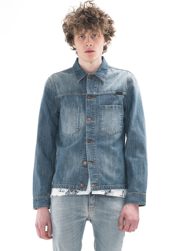 Ronny Indigo Dungaree Denim denim-jackets