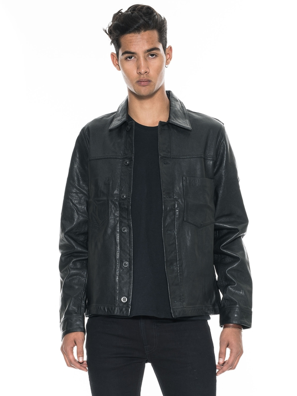 Ronny Leather Jacket Black jackets leather-jacket
