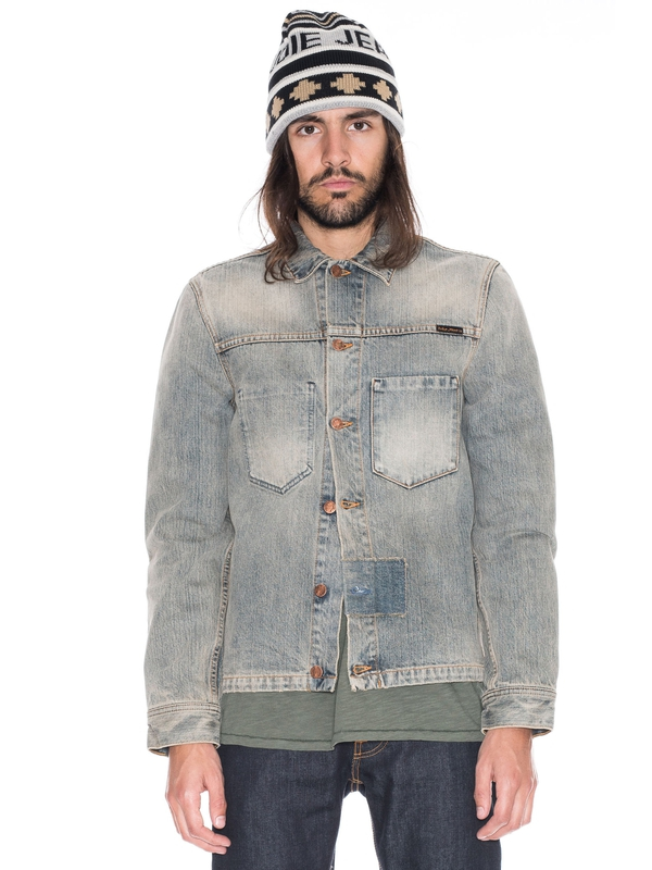 Ronny Patches Denim prewashed denim-jackets